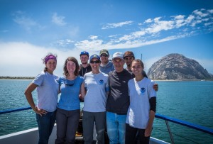 Science crew on the Morro Bay charter.